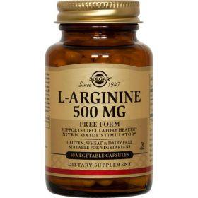 L-ARGININE 500mg caps